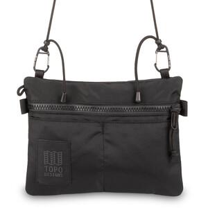 Topo Designs Carabiner Shoulder Accessory Bag, noir noir