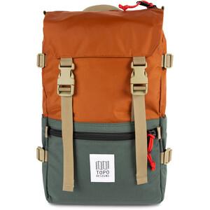 Topo Designs Rover Rucksack orange/grün orange/grün