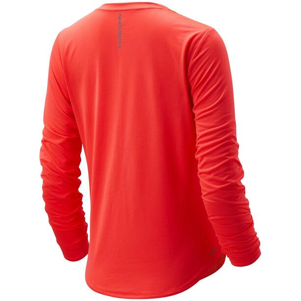 New Balance Accelerate LS Shirt Women orange