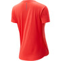 New Balance Accelerate SS Shirt Women orange