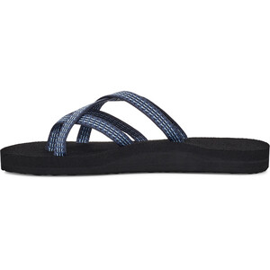 Teva Olowahu Chaussures Femme, noir/bleu noir/bleu