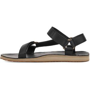Teva Original Universal Leather Sandals Men, negro negro