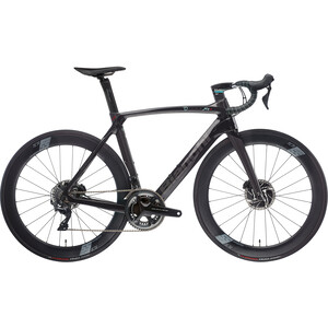 Bianchi Oltre XR4 CV Disc Dura Ace black/graphite full glossy black/graphite full glossy