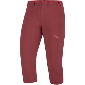 Directalpine Iris 3/4 Pants Women, rood rood