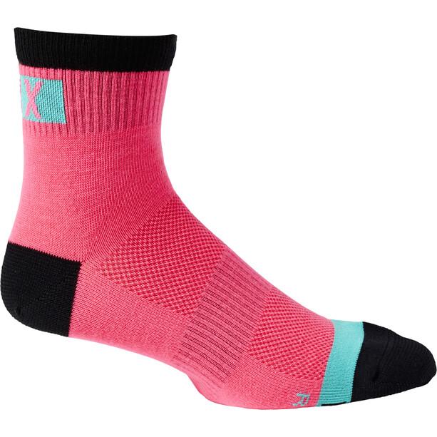 """Fox 4"""" Flexair Merino Socken Herren pink"""