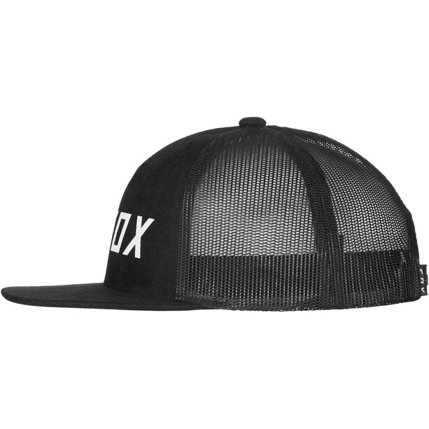 Fox Apex Snapback Kappe Jugend schwarz/weiß