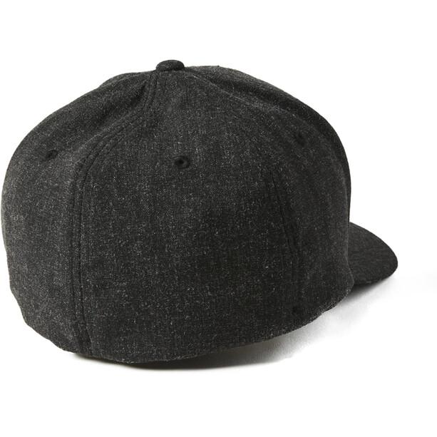 Fox Clouded 2.0 Flexfit Hat Men, noir/orange