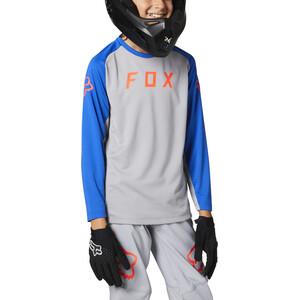Fox Defend LS Jersey Unge, steel grey steel grey