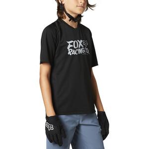 Fox Defend Kurzarm Trikot Jugend black black