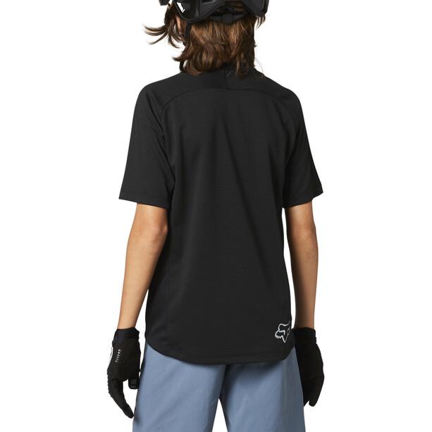 Fox Defend Kurzarm Trikot Jugend black