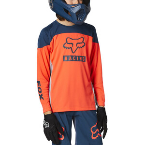 Fox Defend Graphic 2 LS Jersey Youth orange orange