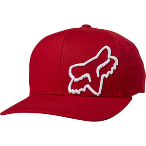 Fox Flex 45 Sombrero Flexfit Hombre, rojo rojo