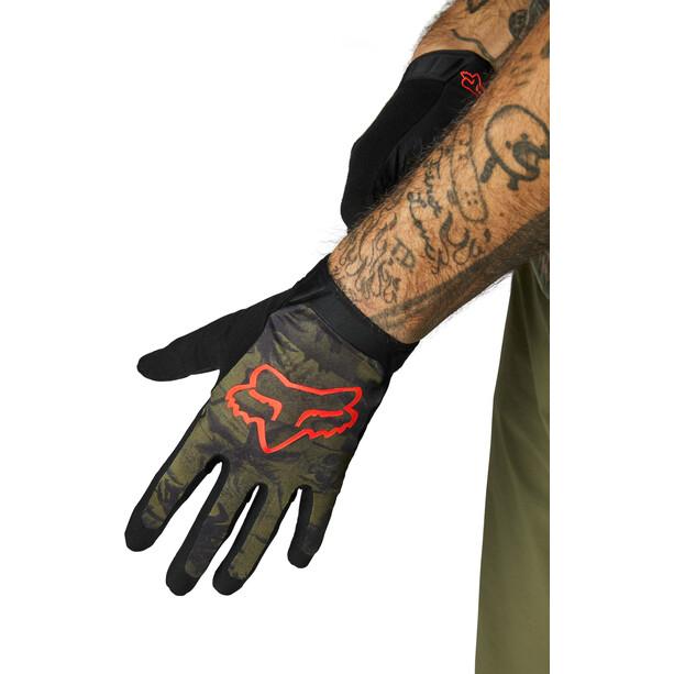 Fox Flexair Ascent Foxhead Gloves Men, vert
