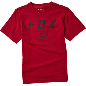 Fox Legacy Kurzarm T-Shirt Jugend rot rot