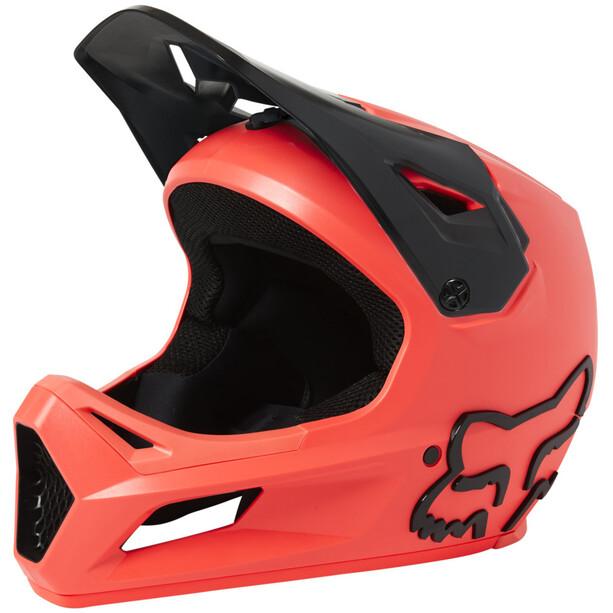Fox Rampage Helm Herren orange