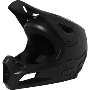 Fox Rampage Helm Jugend schwarz schwarz
