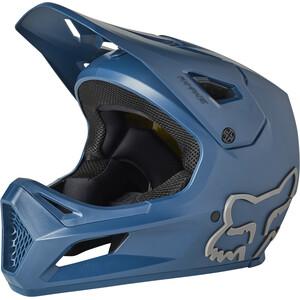 Fox Rampage Helm Jugend blau blau