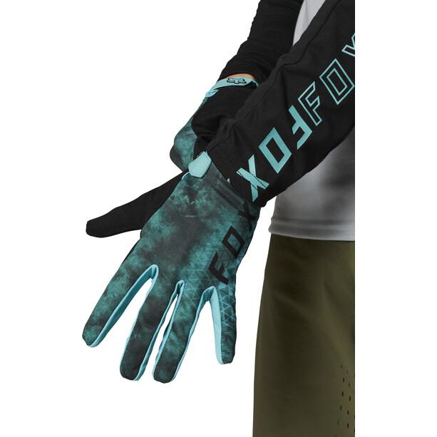 Fox Ranger Gloves Youth, bleu/vert