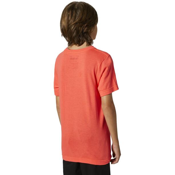 Fox Shattered Kurzarm T-Shirt Jugend orange