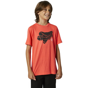 Fox Shattered SS T-shirt Unge, orange orange