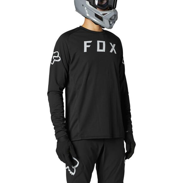 Fox Defend Langarm Trikot Herren black