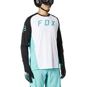 Fox Defend LS Jersey Men vit vit
