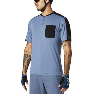 Fox Ranger Dri-Release Kurzarm Henley Herren matte blue matte blue