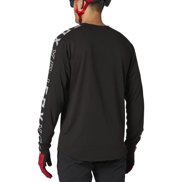 Fox Ranger Dri-Release Foxhead Langarm Trikot Herren black