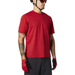 Fox Ranger Power Dry SS Jersey Men röd röd
