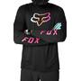 Fox Defend Foxhead Langarm Trikot Herren schwarz