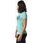 Fox Division Kurzarm Tech T-Shirt Damen teal