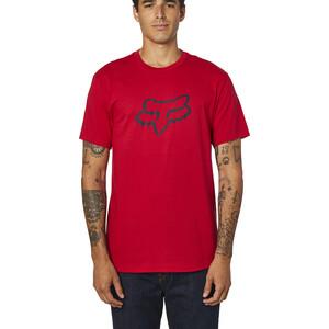 Fox Legacy Foxhead SS T-skjorte Herre rød rød