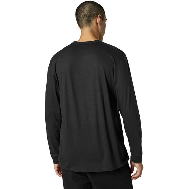 Fox Traditional Langarm T-Shirt Herren black