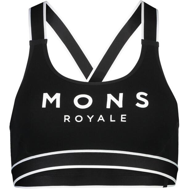 Mons Royale Stella X-Back Bra Women black