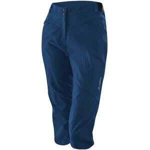 Löffler CSL Spodnie rowerowe 3/4 Kobiety, niebieski niebieski