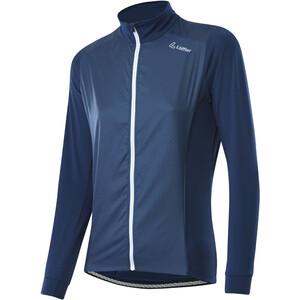 Löffler Light Hybrid Fahrrad Jacke Damen blau blau