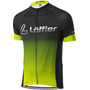 Löffler Messenger Mid Full-Zip Fahrradtrikot Herren black/light green