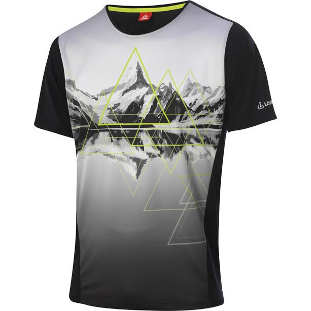 Löffler Peaks Fahrrad T-Shirt Herren black