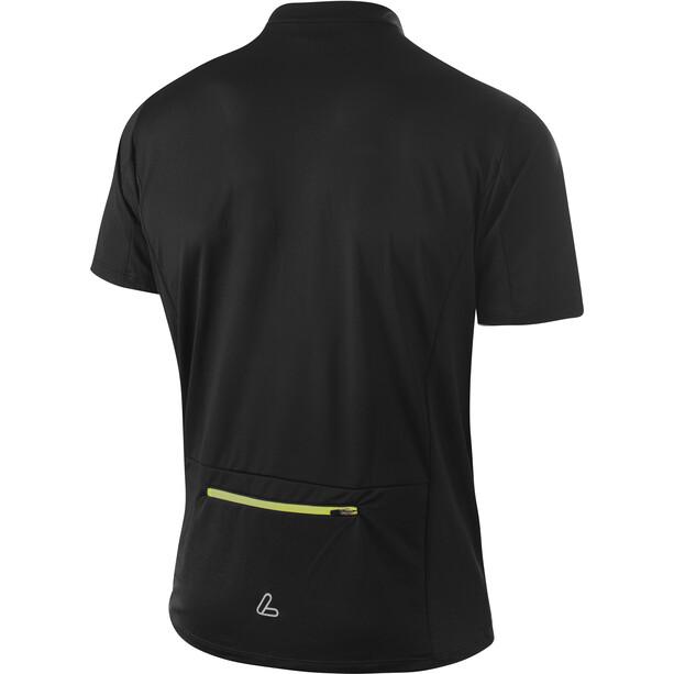 Löffler Peaks Half-Zip Fahrradshirt Herren black