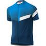 Löffler Stream Mid Full-Zip Bike Jersey Men, blue lake