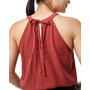 tentree Delta Tank Top Damen henna red