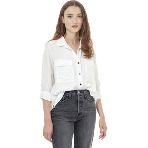 tentree Tencel Everyday Bluse Damen white white