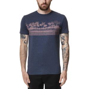 tentree Tourist Juniper T-Shirt Herren dress blue heather dress blue heather