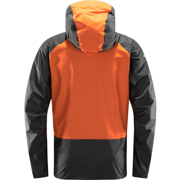 Haglöfs L.I.M Comp Jacke Herren flame orange/magnetite