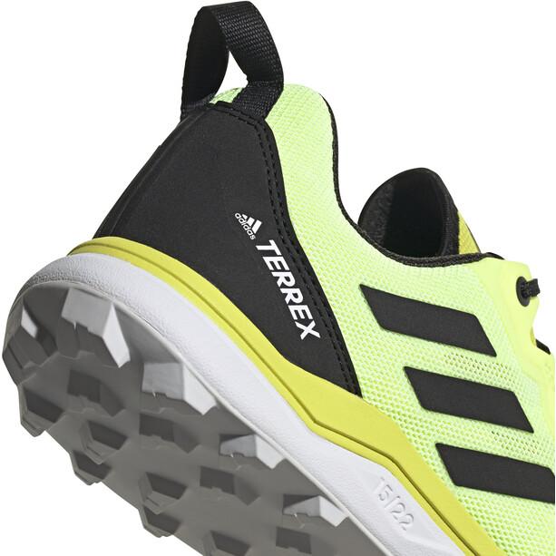 adidas TERREX Agravic Trail Running Schuhe Herren acid yellow/core black/hi-res yellow