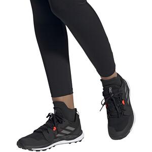 adidas TERREX Agravic Trail Running Schuhe Damen core black/grey four/solar red core black/grey four/solar red