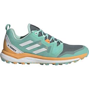 adidas TERREX Agravic Trail Running Shoes Women hazy emerald/crystal white/hazy orange hazy emerald/crystal white/hazy orange