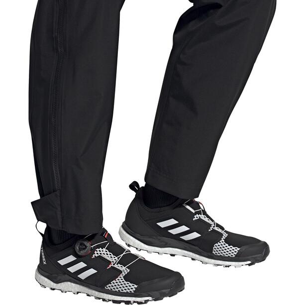 adidas TERREX Agravic Boa Trail Running Shoes Men, noir/blanc