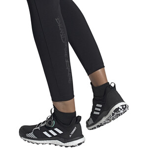 adidas TERREX Agravic Boa Trail Running Schuhe Damen core black/feather white/acid mint core black/feather white/acid mint