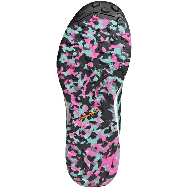 adidas TERREX Agravic Flow Trail Running Schuhe Herren türkis/schwarz
